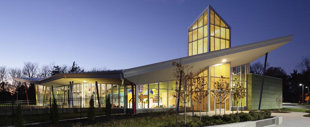 KANSAS CHILDREN'S DISCOVERY CENTER / GOULD EVANS ARCHITECTS / KANSAS CITY MO / PHOTO: AARON DOUGHERTY PHOTOGRAPHY
