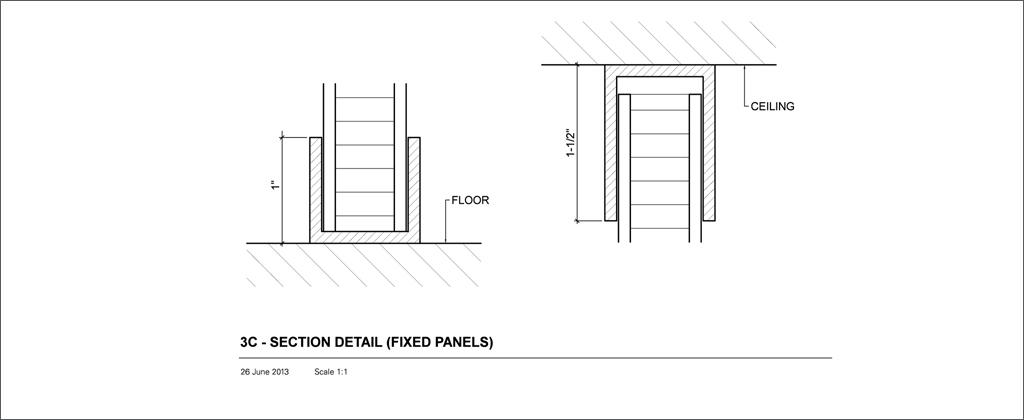 3c Section Floor Ceiling Detail Panelite