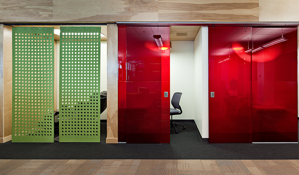 Panelite Bonded Series Partitions and Sliding Doors Google offices DLR Group 1