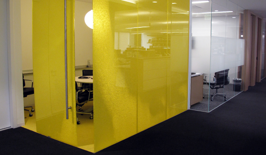 CASE STUDY: DIRECTIONALLY TRANSPARENT PARTITION WALLS FOR GROUP ...