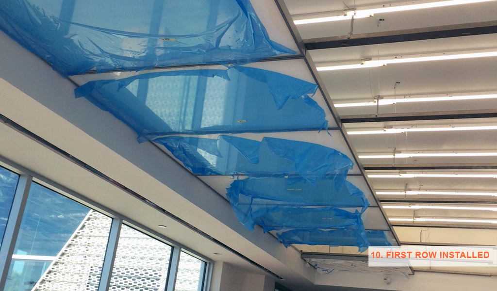 10 - Panelite SNAP System for backlit walls and ceilings - installed closer