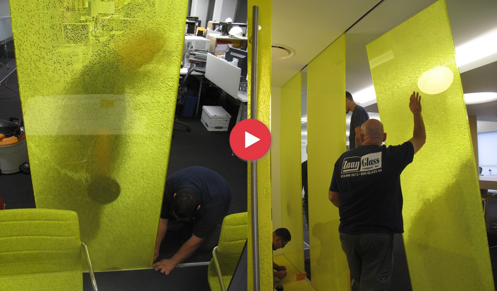 VIDEOS | Installation of Panelite Bonded Series Panels B-RCYT at Westfield Offices, LA