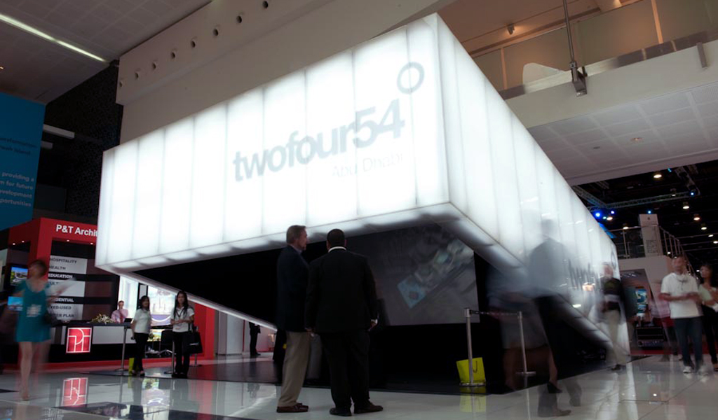 TWO FOUR 54 Trade Show Booth | Architect: Diller Scofidio + Renfro