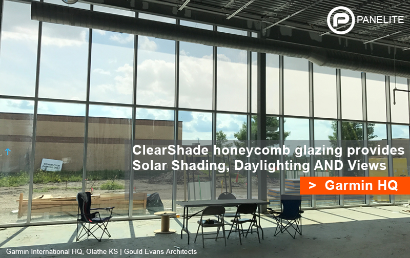 ClearShade brings daylight and views to Garmin HQ