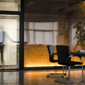 Panelite Bonded Series Translucent Honeycomb Partitions Bencore offices 170
