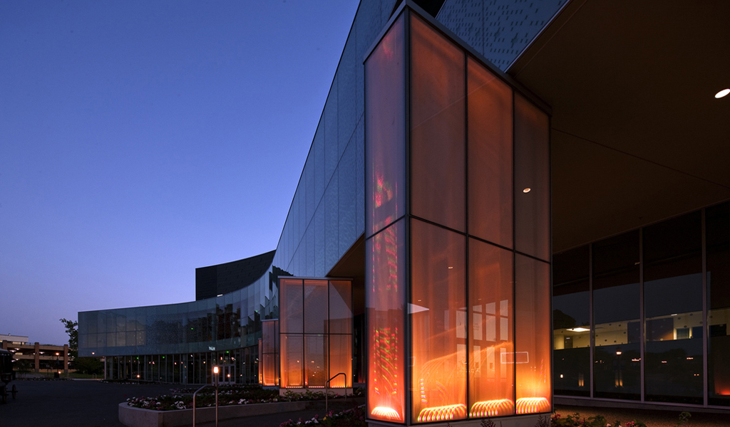 Panelite ClearShade | Exterior Glazing | Project: Burnsville Performing Arts