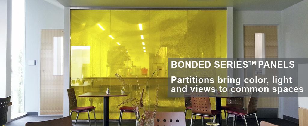 Panelite Bonded Series Translucent Honeycomb Panels
