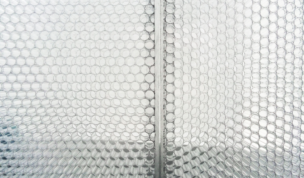 BF-ITL1 TCCT ClearConnect detail for Panelite translucent honeycomb panels elevation