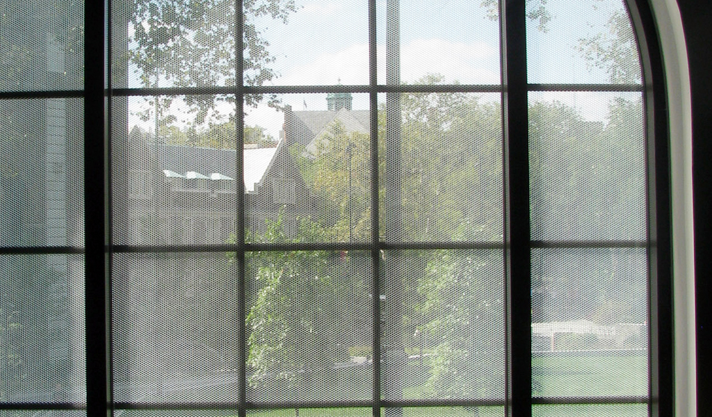 Panelite ClearShade Exterior Glazing Retrofit Hutchinson Gymnasium Infill U Penn Crawford Architects 4