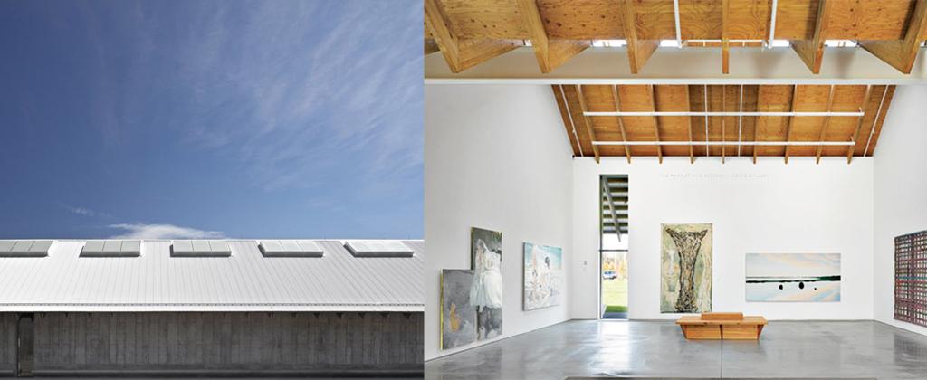 Panelite ClearShade Exterior Roof Glazing - Skylights - Parrish Art Museum Herzog + de Meuron banner