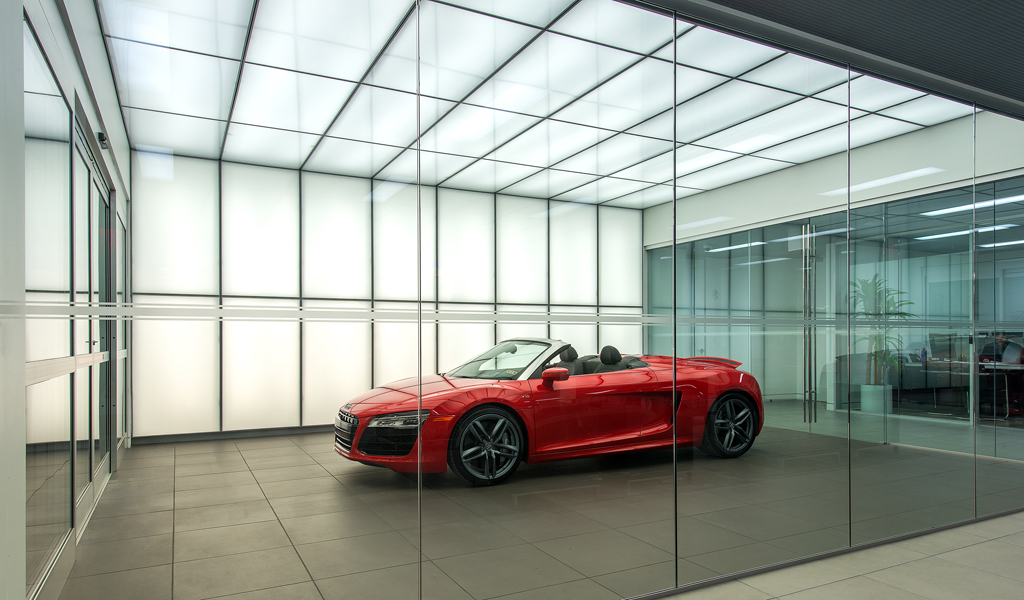 Audi Central - Houston, TX | Architects: CDR Studio, GOREE Architects