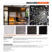 Panelite Bonded Series Translucent Honeycomb Partitions 3D black product PDF 170