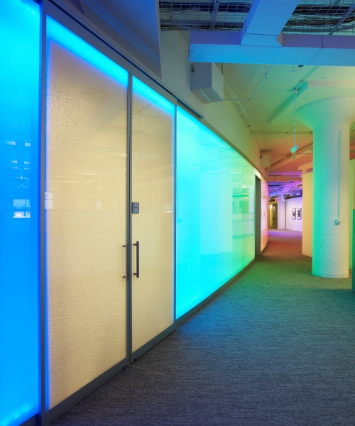 Case Study Frameless Backlit Walls In