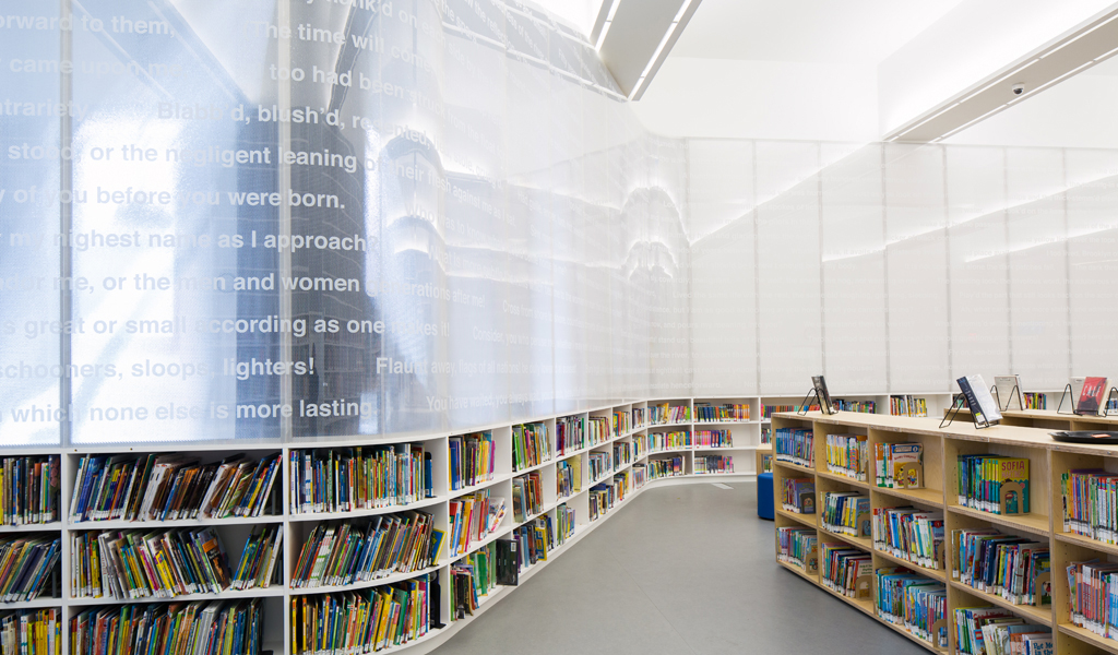 Brooklyn Library | Leven Betts Architects | B-TCCT 5 ways CURVED PANELS