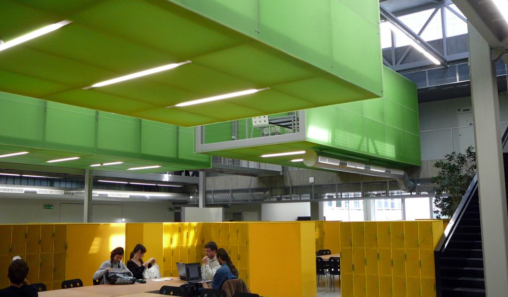 Prague University Panelite Translucent Honeycomb Panels