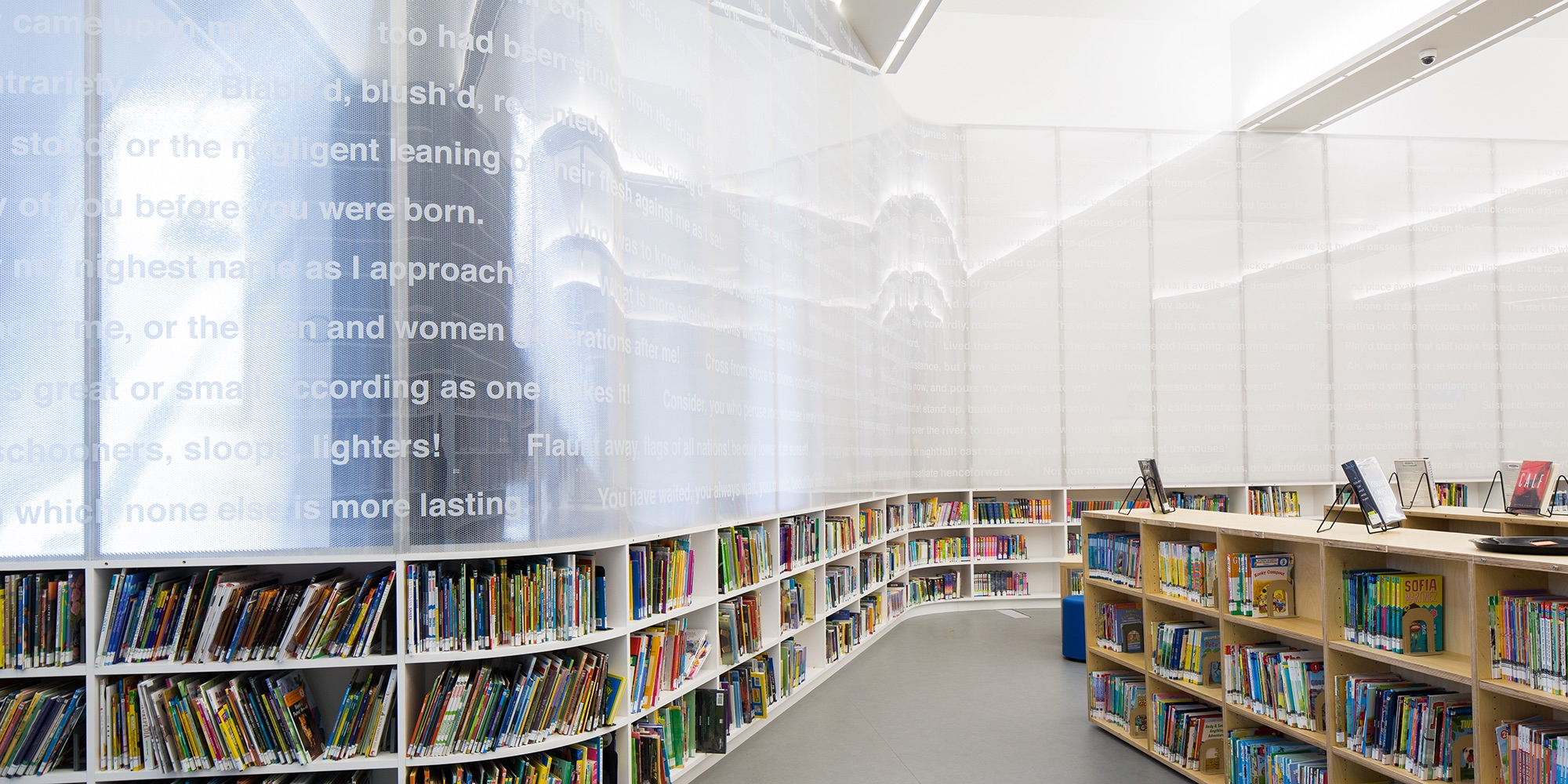 Brooklyn Heights Interim Library | Leven Betts Architects | Photo Gregg Richards