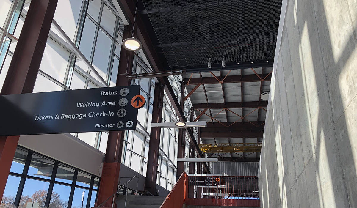 ClearShade amplifies daylight, maintains views at Raleigh Union Station.