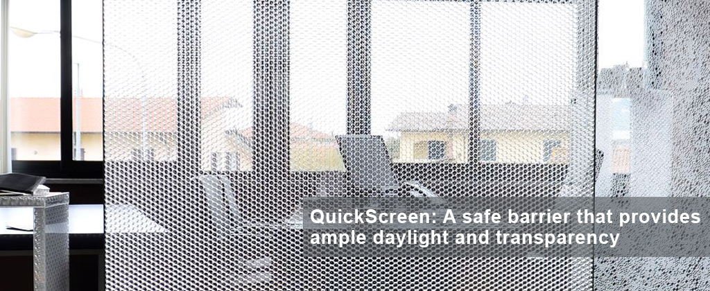 Panelite Bonded Series Quick Screens - Privacy, Daylighting, Design Options, Safety, Health