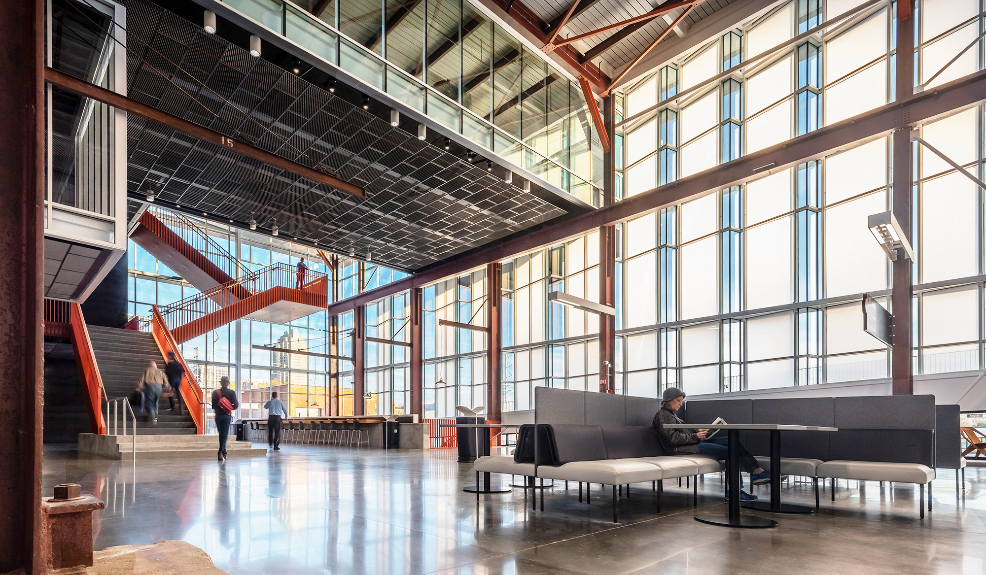 ClearShade Raleigh Union Station - Infill, Curtain Wall, Clerestory - Exterior glazing using ClearShade IGU - more light, better light, LEED credit, solar heat gain control